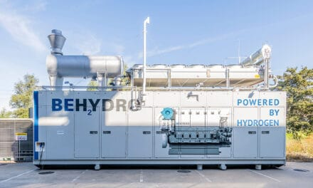 'Waterstof- sleepprimeur' met BeHydro-motor