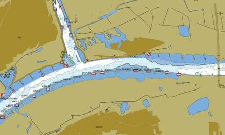 Actuele waterdiepten nu zichtbaar in Inland ECDIS-viewer