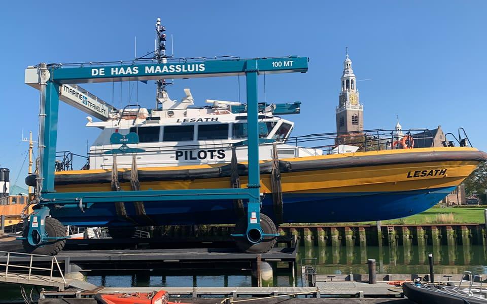 De Haas Rotterdam vertrouwt op stabiele markt en bouwt nieuwe scheepslift op RDM-terrein