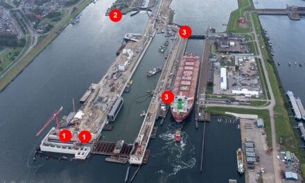 Nieuwe zeesluis, wat gebeurt er in september en oktober?