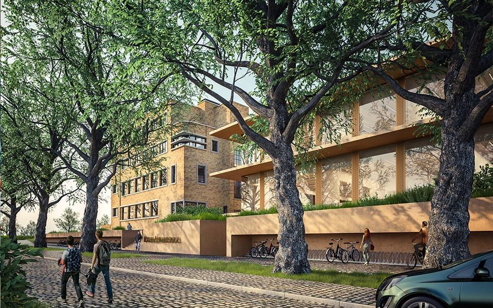 Nieuwbouw voor Hogere Zeevaartschool