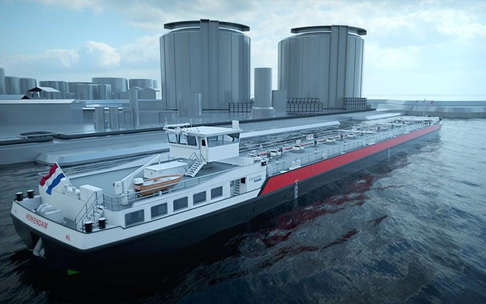 Concordia Damen receives 40 inland waterway barge order from J.P. Morgan