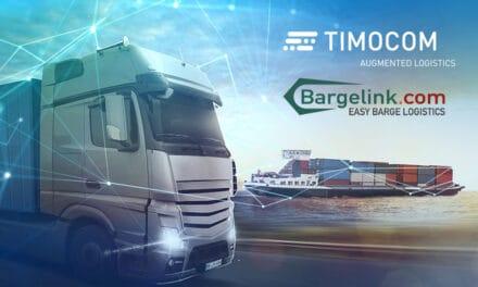 Van water naar de weg: Bargelink en TIMOCOM maken gecombineerd verkeer mogelijk