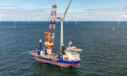Aeolus completes turbine installation at Borssele III & IV offshore wind farm