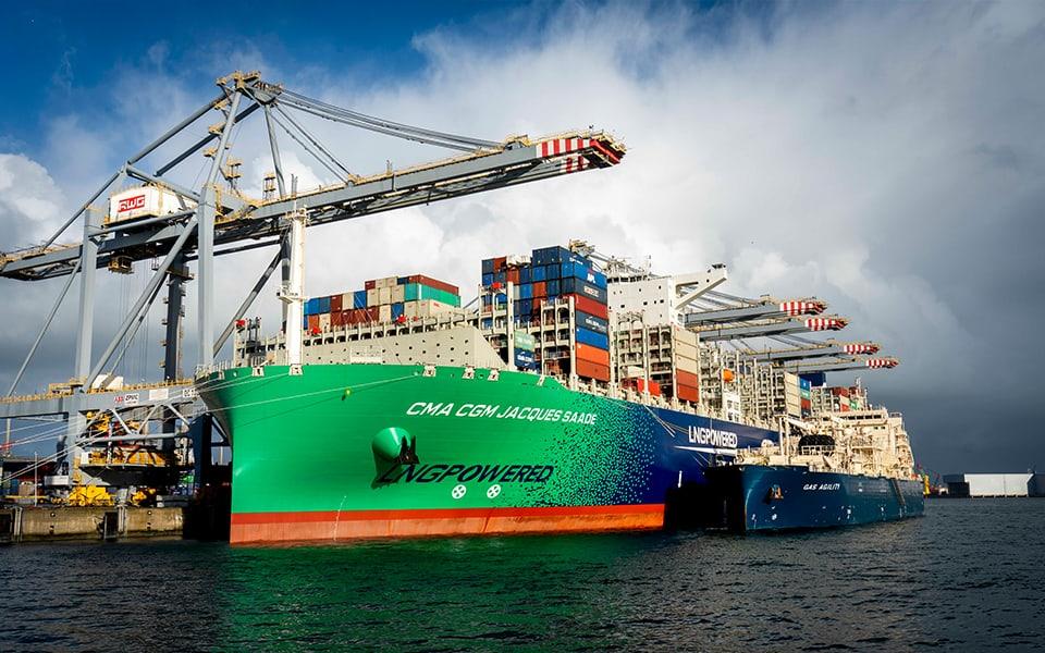LNG steeds populairder als brandstof voor de scheepvaart