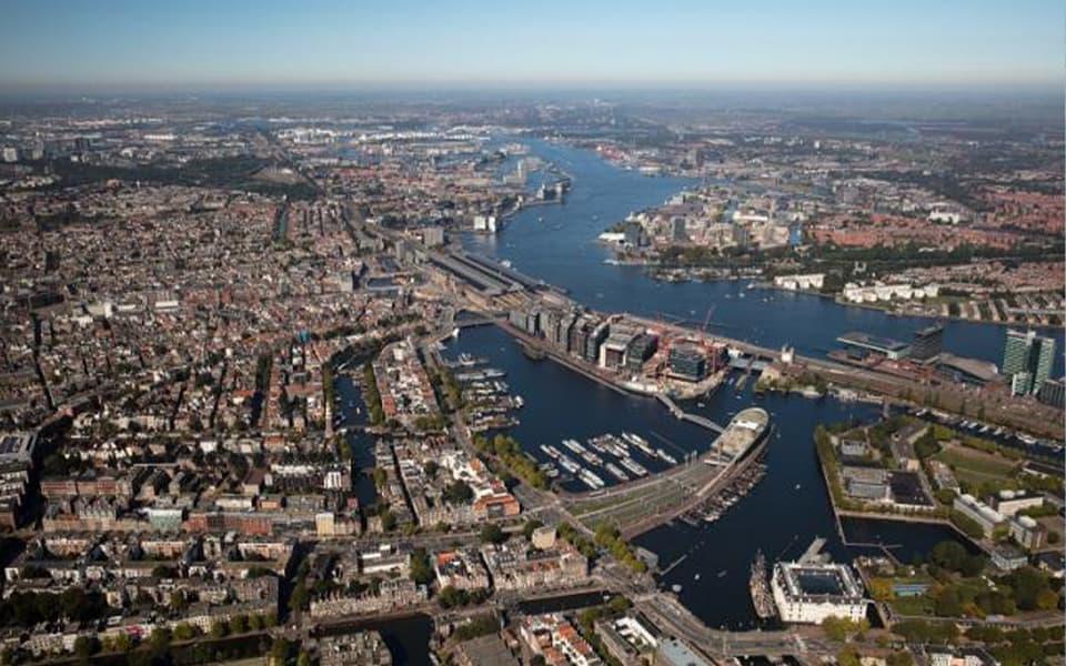 Amsterdam Havenstad in Scheepvaartmuseum