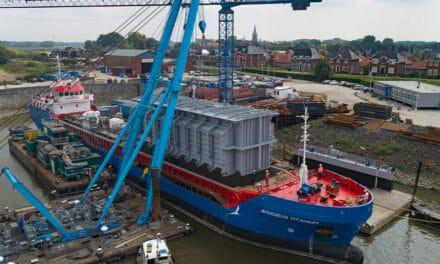 Afbouw van zeven tankers zet De Gerlien van Tiem vol in beweging