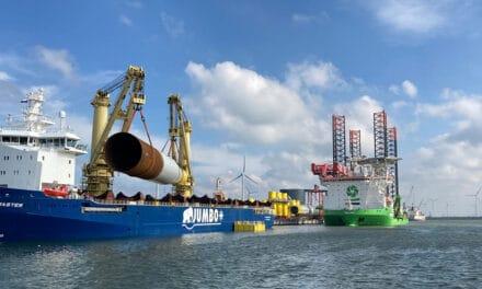 Voorbereidend werk voor mega-windpark vanuit de Eemshaven