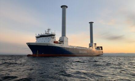 Modern zeilschip voor vrachtvervoer SC Connector arriveert dinsdag in Rotterdam