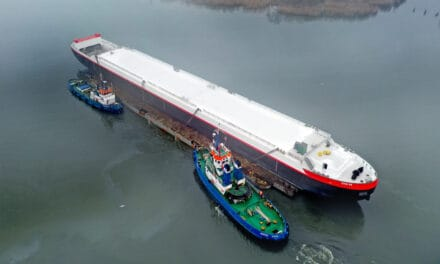 HGK Shipping builds the most modern gas tanker vessel