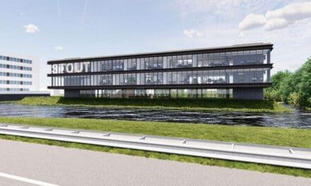 Nieuw kantoor voor bouwonderneming Stout en Herkon in Sliedrecht