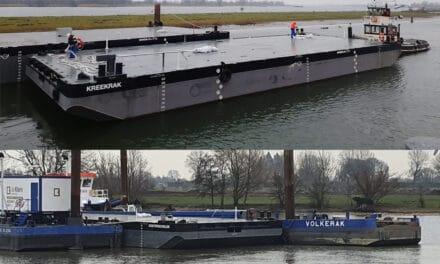 De Klerk takes delivery of two Damen Stan Pontoon