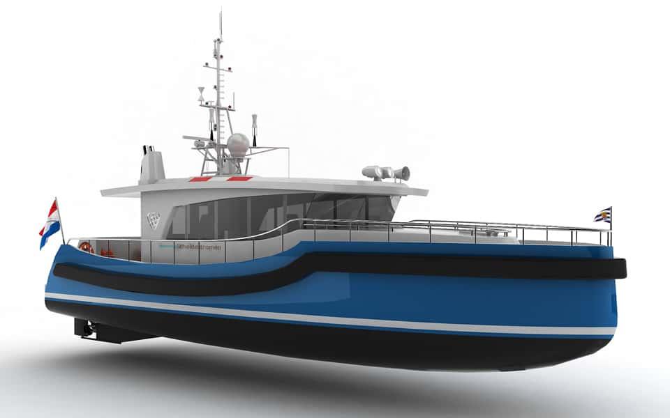 Holland Shipyards Group to build new survey vessel for Waterschap Scheldestromen