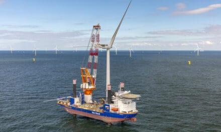 Van Oord celebrates final milestone Borssele III & IV offshore wind farm