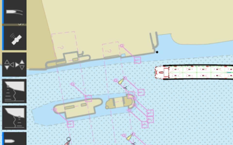 Nieuwe AlphaMINDS River applicatie door JRC/Alphatron Marine