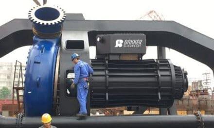 Bakker Sliedrecht onderzoekt gebruik biologisch afbreekbare olie in onderwatermotoren Van Oord
