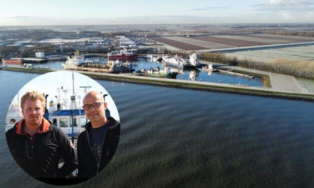 Dutch Harbour: ideaal voor het  tijdelijk opleggen van schepen én voor opslag van materialen