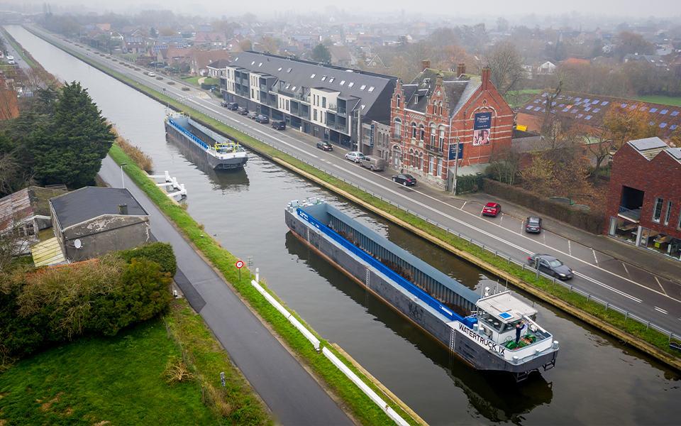 Watertruck+ zoekt aansluiting met Nederland