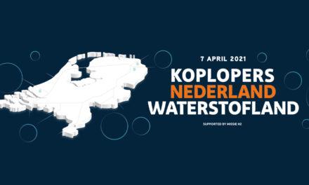 Online event Nederland Waterstofland: Nederlands bedrijfsleven kiest voor waterstofeconomie