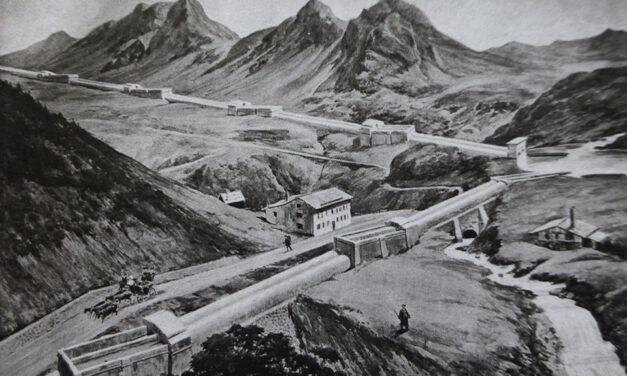 een bevaarbaar Alpenkanaal