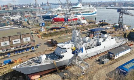 Damen Shiprepair Amsterdam maakt Zr.Ms. Evertsen gereed voor reis naar Japan