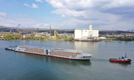 Concordia Damen launches A-ROSA's next-generation  'E-Motion' river cruise ship