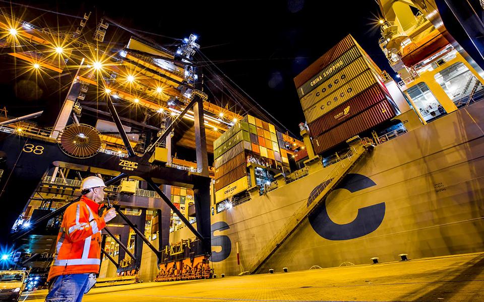 Zorgen over containerlijnvaart