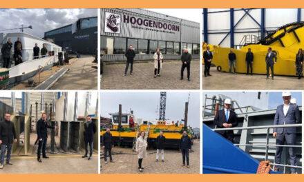 3 WERK-bezoeken in haven Werkendam