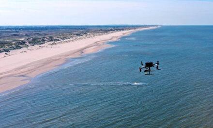 Reddingsbrigade Den Helder gaat met drones muistromen detecteren en drenkelingen opsporen