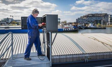 Amsterdamse haven plaatst nieuwe, slimme walstroomkasten