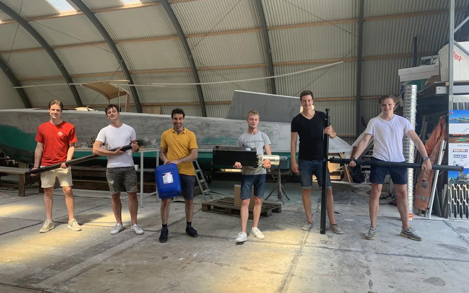'Ontwikkeling bootlift Futuro intensieve samenwerking met studenten'
