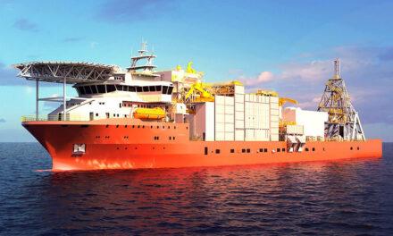 Alewijnse bereikt mijlpaal nieuwste en grootste offshore diamantmijnbouwschip