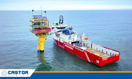 Castor Marine expands North Sea network to full 4G coverage with Tampnet reseller agreement.