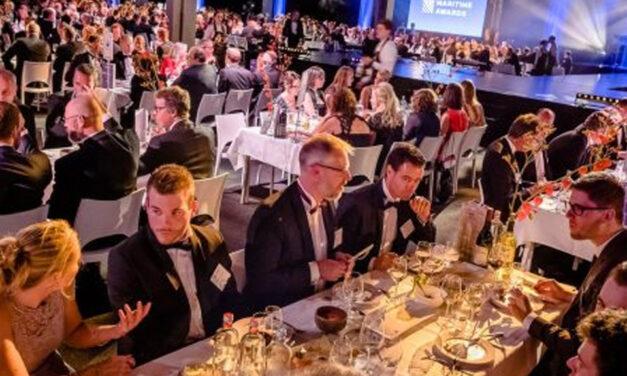 Nog maar 20 tafels beschikbaar op het Maritime Awards Gala 2021
