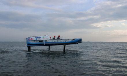 's Werelds eerste vliegende waterstofboot is een feit!