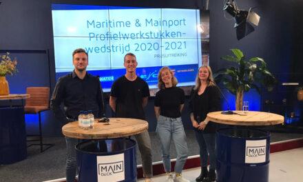 Energietransitie wint de Maritime & Mainport Profielwerkstukkenwedstrijd 2020-2021