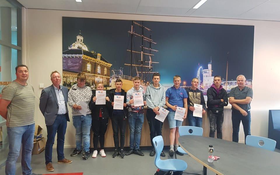 Primeur: eerste certificaten veiligheid voor LeerWerkTraject