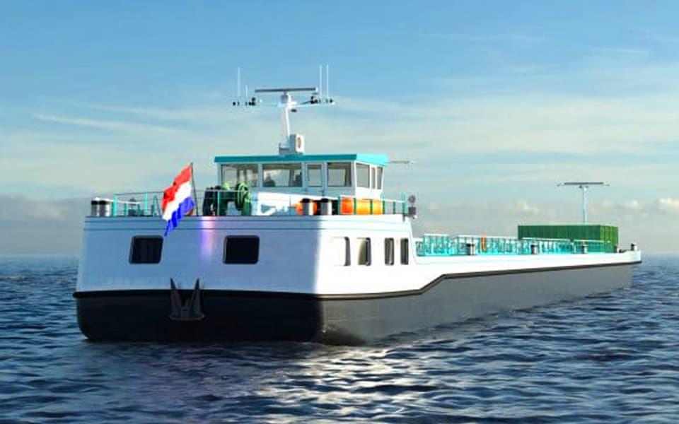 Nieuw concept voor varen op waterstof
